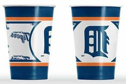 Detroit Tigers Disposable Paper Cups - 20 Pack  MLB Party Ta