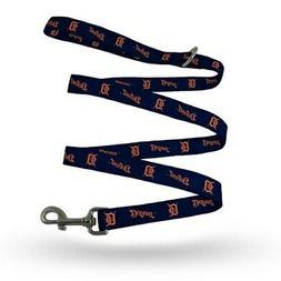detroit tigers double print pet leash