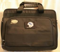 Detroit Tigers Denco Expandable Laptop Briefcase Black NWT E