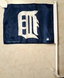 DETROIT TIGERS Flag Car Window Truck SUV Office Den Man Cave