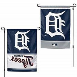 DETROIT TIGERS Flag Double Sided Logos Garden Indoor Outdoor