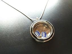 detroit tigers floating charm pendant living locket