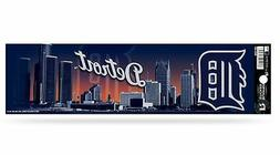 Detroit Tigers Glitter Bumper Sticker  MLB Auto Car Truck De
