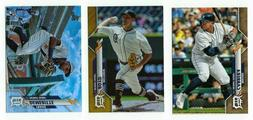 DETROIT TIGERS Gold Rainbow Foil Parallel 2020 Topps Series