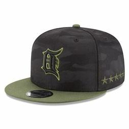 Detroit Tigers Hat New Era 2018 Memorial Day Snapback MLB 9F