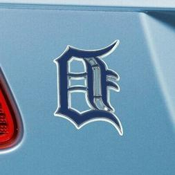 Detroit Tigers Heavy Duty Metal 3-D Color Auto Emblem
