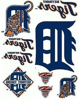 Detroit Tigers Iron On T Shirt / Pillowcase Fabric Transfer