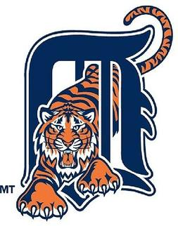 Detroit Tigers Iron On T Shirt Pillowcase Fabric Transfer #4