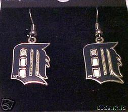 Detroit Tigers J Hook Dangle  Earrings NEW