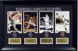 Detroit Tigers Legends T. Cobb H. Greenburg A.Kaline A.Tramm