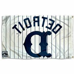 Detroit Tigers Logo 3x5 Banner Flag