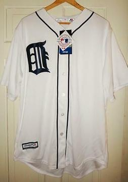 Majestic Detroit Tigers Men's White Home Cool Base Team Jers