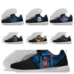 DETROIT TIGERS Men's womens Lightweight Shoes Sneakers Baseb