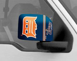 Detroit Tigers Mirror Cover 2 Pack- Large  MLB Auto Elastic