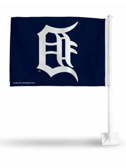 Detroit Tigers MLB 11X14 Window Mount 2-Sided Car Flag New F
