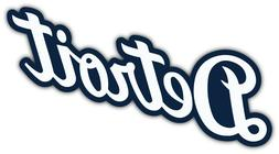"Detroit Tigers MLB Baseball Car Bumper Sticker Decal ""SIZES"""