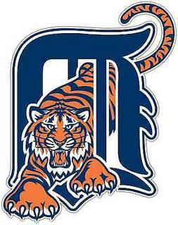 Detroit Tigers MLB Baseball Car Bumper Window Sticker Decal