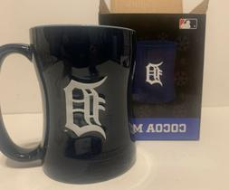 SportsCrate Detroit Tigers MLB Baseball Coffee Cocoa Mug Bra