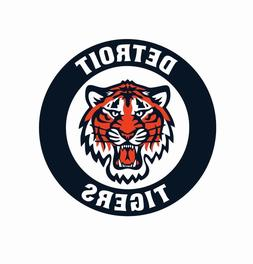 Detroit Tigers MLB Baseball Color Logo Sports Decal Sticker-