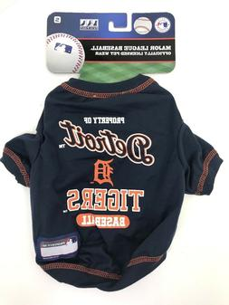 DETROIT TIGERS MLB Baseball Pet T-Shirt Dog Wear Licensed Te