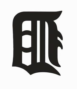 Detroit Tigers MLB Baseball Vinyl Die Cut Car Decal Sticker