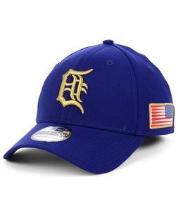 Detroit Tigers New Era MLB Flag Patch 39THIRTY Cap Hat USA M