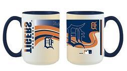 Detroit Tigers MLB Full Wrap 15oz Jumbo Coffee Mug FREE SHIP