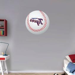 "Detroit Tigers MLB Logo Ball Art Wall Decor Sticker  12"" or"