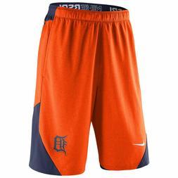 Detroit Tigers MLB Mens NIKE Orange Shorts M L XL XXL Baseba