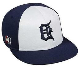 Detroit Tigers MLB OC Sports Color Block Hat Cap White Navy