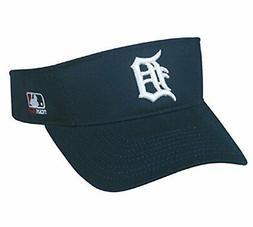 Detroit Tigers MLB OC Sports Sun Visor Golf Hat Cap Navy Blu