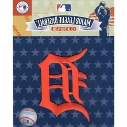 """Detroit Tigers MLB Official Licensed Orange """"D"""" Sleeve Team"""