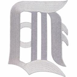 "Detroit Tigers MLB Official Licensed White ""D"" Sleeve Team L"