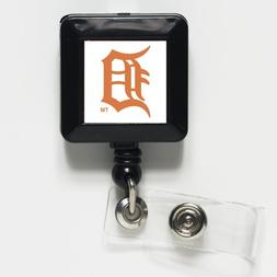 Detroit Tigers Official MLB 1 inch x 1 inch Retractable Badg