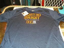 Detroit Tigers Under Armour  MLB Team apparel  shirt  XXL