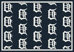 Detroit Tigers MLB Team Repeat Area Rug Milliken