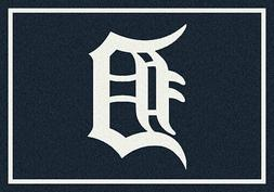 Detroit Tigers MLB Team Spirit Area Rug Milliken