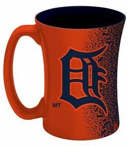 Detroit Tigers Mocha Coffee Mug  14 Ounce Oz. MLB Tea Cup Mi