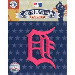 Detroit Tigers Mothers Day Pink Sleeve Jersey Patch