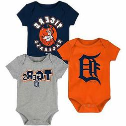 Detroit Tigers Newborn & Infant Everyday Fan Three-Pack Body