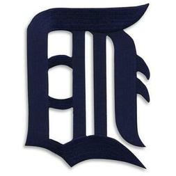 Detroit Tigers Old English Letter D Logo MLB Sleeve Patch Je