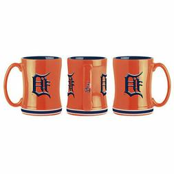 Detroit Tigers ORANGE Boelter MLB Relief Coffee Mug 14oz FRE