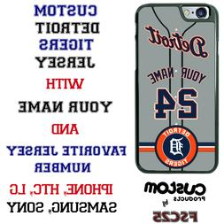 Detroit Tigers Personalize Baseball Jersey Phone Case Cover