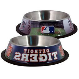 Detroit Tigers Pet Bowl Dog Bowl Dog Food Dish
