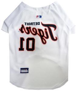 detroit tigers pet jersey large 12 15