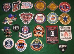 Detroit Tigers PICK YOUR PATCH 1935 1945 1968 1984 World Ser