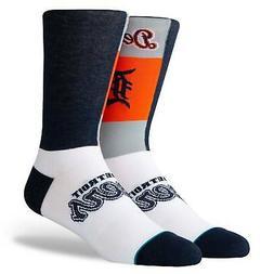 Detroit Tigers Stance Pop Fly Crew Socks