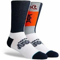 Detroit Tigers Stance Pop Fly Logo Crew Socks