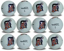 Detroit Tigers Titleist ProV1 Refinished MLB Golf Balls 12 p