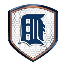 Detroit Tigers Reflector Decal MLB Auto Shield Team Logo Bik